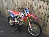 HONDA CRF250 2014 4 stroke motocross bike