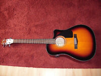 Fender electro acoustic guitar cd-60ce