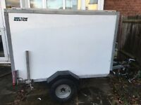 Tow Master Box Trailer with Shutter Roller
