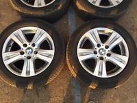 4 tires for BMW series 3