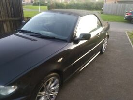 BMW 318ci M SPORT CONVERTIBLE STUNNING CONDITION MOT 2/19 MV ALLOY WHEELS ELECTRIC ROOF READY TO GO