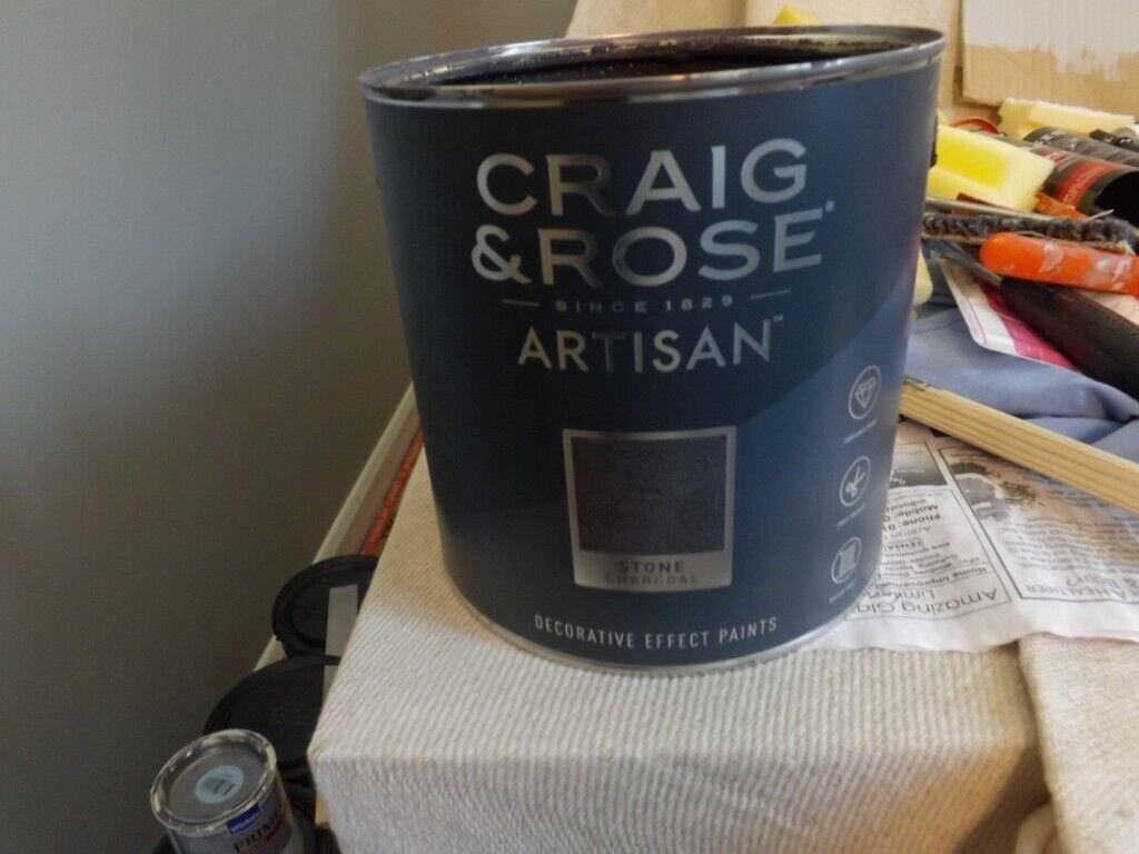 Craig & Rose Artisan Stone Charcoal Paint | in Taverham, Norfolk | Gumtree