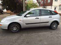 Ford Focus 1.6, Manual, 2000, low mileage