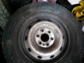 Iveco Daily tyre and rim, Size 225/70/16C