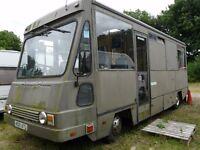 Leyland Road Runner Motorhome / Race Truck 7.5T