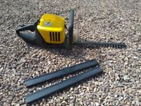 McCulloch Hedge Trimmer with guards
