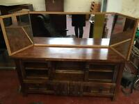 Large Triple Dressing Table Mirror
