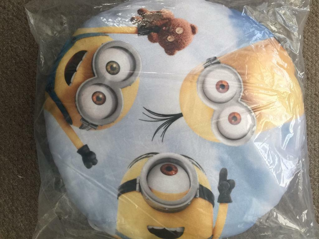 Despicable Me 3 Minions cushion brand new with tags and packaging
