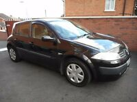 2003 renault megane expression{15 dci,30 pounds tax,2 family owners}2 KEYS