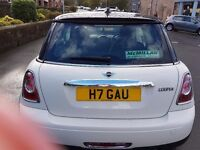 Mini Cooper 2012 Panoramic Sunroof Private Plate Only done 24000 miles
