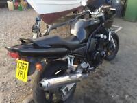 12months MOT Yamaha fazer 600 restricted in power