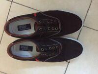 Ralph Lauren men's canvas shoes size 11