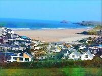 Caravan for Sale. £8500 Situated in Perranporth with amazing sea views