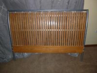 John Lewis Beech wooden slatted Double Bed Frame