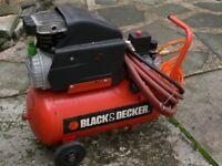 Black and decker compresser