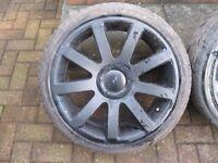 "Audi RS4 Style 18"" alloy wheels with tyres, Fits VW Golf, A3, Leon, A4, A6, Passat, T4 Van"