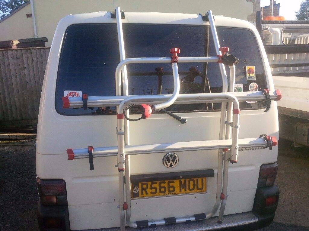 VW T4 Fiamma bike bicycle rack for van