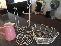 Heart kitchen accessories