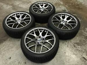 "18"" VMR Titanium Wheels 5x120 & Winter tires 225/40R18 (BMW Cars) Calgary Alberta Preview"