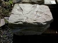 Garden stepping stone slabs
