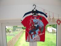 NEW SPIDERMAN T-SHIRTS AGE 4-5 YEARS