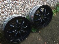 VW Beetle Wheel Rims and Tyres for £50