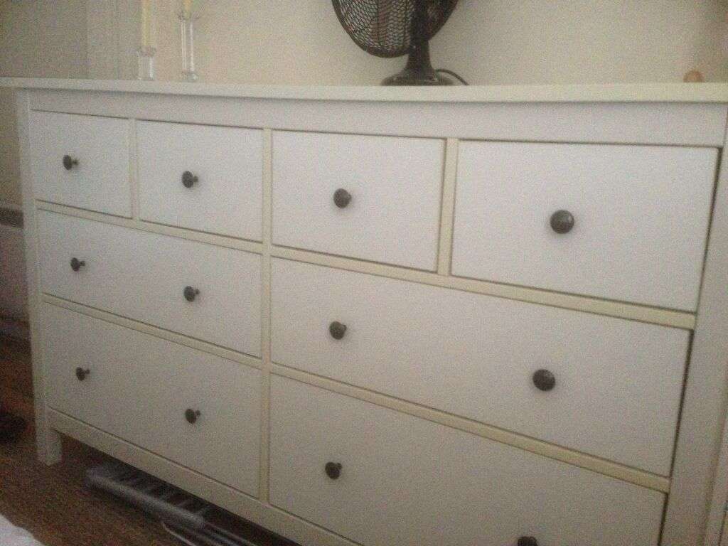 Free Ikea Hemnes  Drawer Chest Of Drawers In White