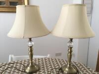 Two Touch Lamps