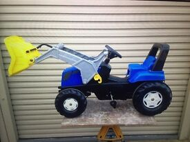 Kids New Holland Tractor & Trailer