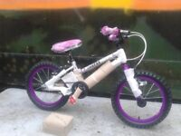 New Falcon Kids Superlite Girls 16 Inch Alloy Bike With Stabilisers - RRP £195