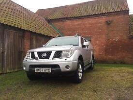 Nissan navara Adventura 57 reg 6 speed Diesel NO VAT!!!