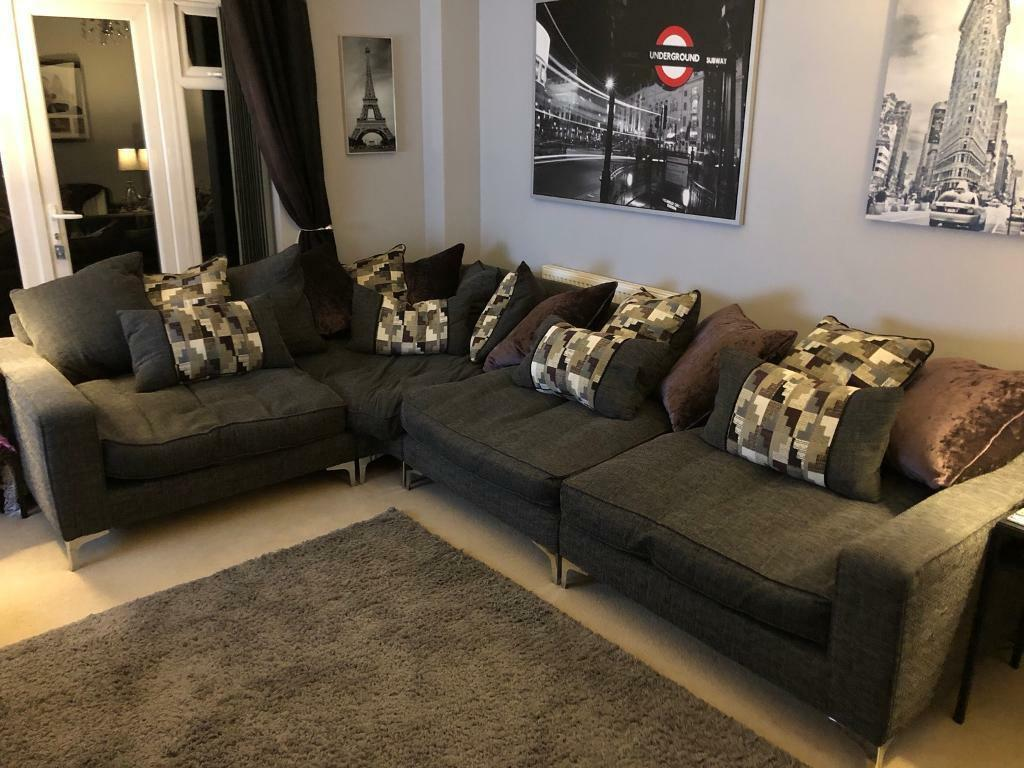 wholesale dealer 23f75 fc0f5 Sofology / Sofaworks Pentagon corner sofa | in Hucknall, Nottinghamshire |  Gumtree