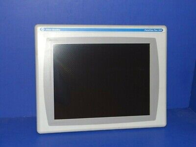 Allen Bradley Panelview Plus 1500 2711p-rdt15c C Display Only Great Screen