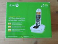 Doro Cordless phone and answer phone