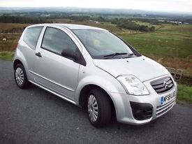 Citroen C2VT Silver 1.1 2009 One owner from new.