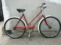 Ladies vintage Raleigh trent tourist bike Bristol UpCycles t