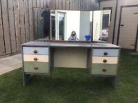 Vintage mid century Stag dressing table