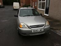 Kia Rio ice, 1.3. Unwanted part ex brilliant runner age related marks great car