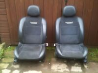 Clio sport seats front and back 172 182