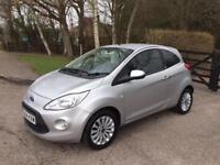 2014 FORD KA SILVER 1.2 METAL HATCHBACK ONE YEAR MOT 28000 MILES ONLY CAT C IMMACULATE CONDITION