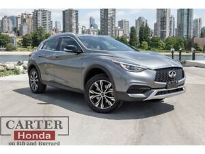 2017 Infiniti QX30 Base AWD+ Summer Clearance! On Now!