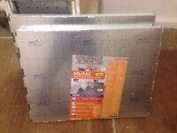 2x Boxes SELIT 5MM EXPANDED POLYSTYRENE LAMINATE FLOOR UNDERLAY 10M²