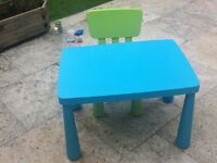 Kids IKEA Table and chair for FREE