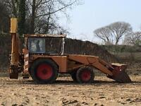 JCB 3c Mk2 Back Hoe digger with Clam front Bucket & 498 engine
