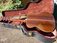 2008 Martin OM 28 V Vintage Series Acoustic Guitar Sunburst Original case 000 size
