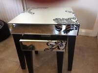 Lawrence Llewelyn Bowen mirrored nest of tables