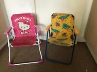 2 chairs for girls and boys