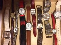Assorted ⌚️ watches and jewellery