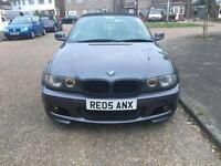 BMW 320cd M-Sport CONVERTIBLE.2005.E46.6speed manual..COILOVERS..REMAPPED..BARGAIN