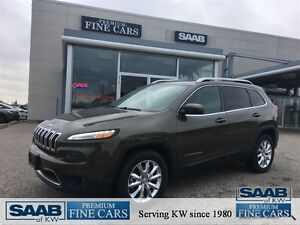 2015 Jeep Cherokee ONE OWNER ACCIDENT FREE LOW KM'S 40100 LIMITE